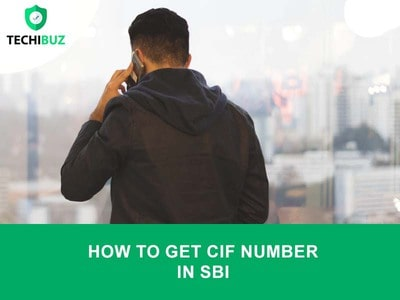 How To Get CIF Number In SBI