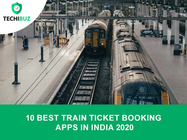 Train Ticket booking Apps In India