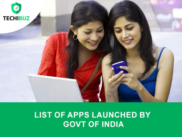 list of apps launched by indian govt