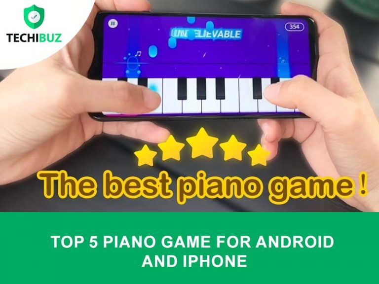 piano game for android and iPhone