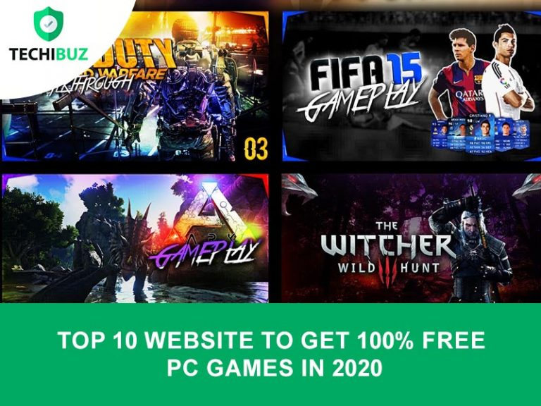 Top 10 Website To Get 100% Free PC Games