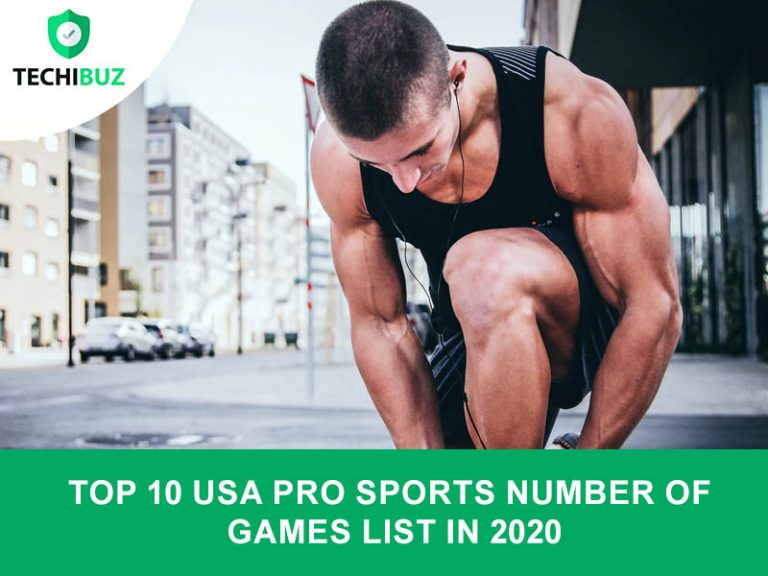 Top 10 USA Pro Sports Number Of Games List