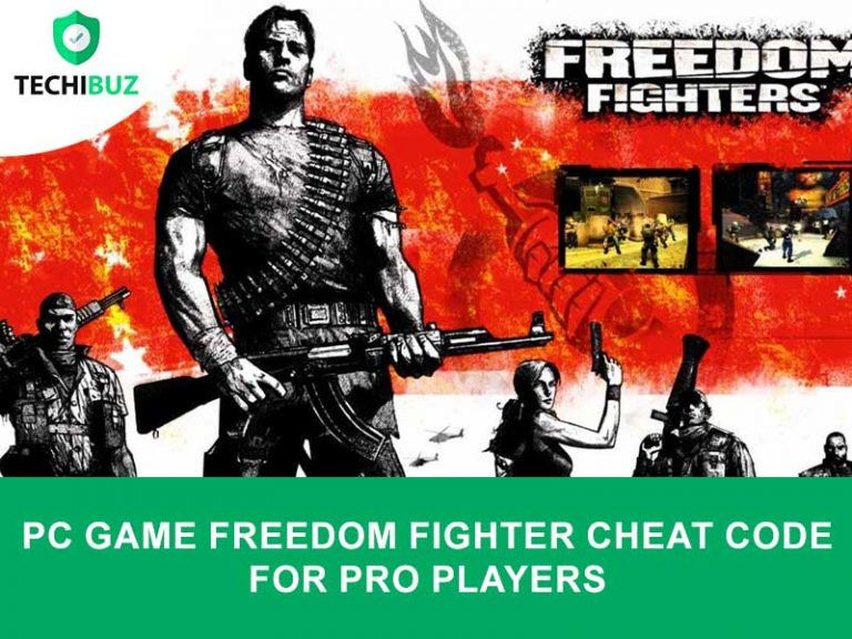 freedom Fighter Cheat Code