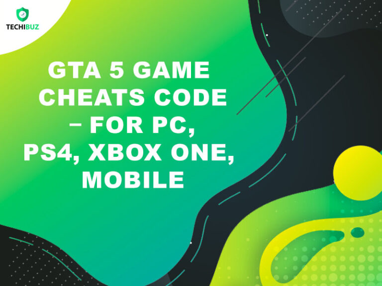 GTA 5 Game Cheats Code – For PC, PS4, XBOX ONE, MOBILE